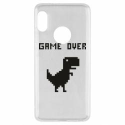 Чехол для Xiaomi Redmi Note 5 Game over dino from browser