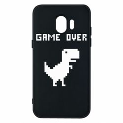 Чехол для Samsung J2 2018 Game over dino from browser