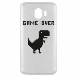 Чехол для Samsung J4 Game over dino from browser