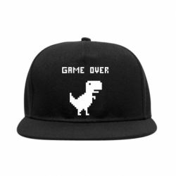 Снепбек Game over dino from browser
