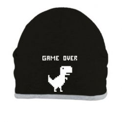 Шапка Game over dino from browser