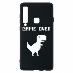 Чехол для Samsung A9 2018 Game over dino from browser