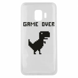 Чехол для Samsung J2 Core Game over dino from browser
