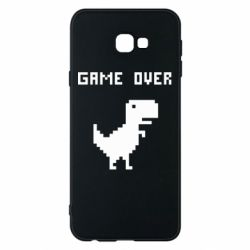 Чехол для Samsung J4 Plus 2018 Game over dino from browser