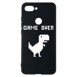 Чехол для Xiaomi Mi8 Lite Game over dino from browser