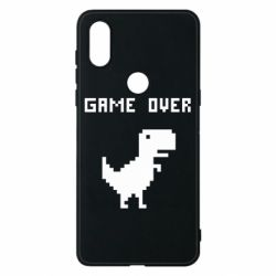 Чехол для Xiaomi Mi Mix 3 Game over dino from browser