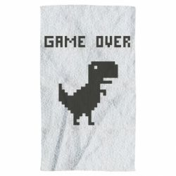 Полотенце Game over dino from browser