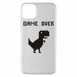 Чехол для iPhone 11 Pro Max Game over dino from browser