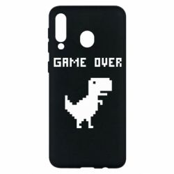 Чехол для Samsung M30 Game over dino from browser