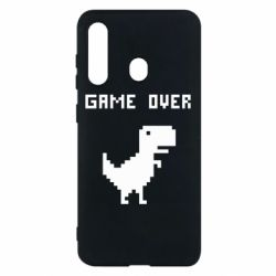 Чехол для Samsung M40 Game over dino from browser