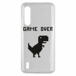 Чехол для Xiaomi Mi9 Lite Game over dino from browser