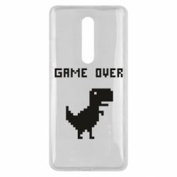 Чехол для Xiaomi Mi9T Game over dino from browser