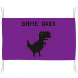 Флаг Game over dino from browser