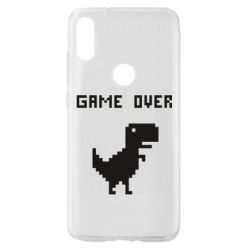 Чехол для Xiaomi Mi Play Game over dino from browser