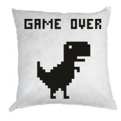 Подушка Game over dino from browser