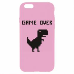 Чехол для iPhone 6 Plus/6S Plus Game over dino from browser