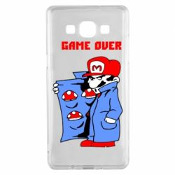 Чехол для Samsung A5 2015 Game Over Mario