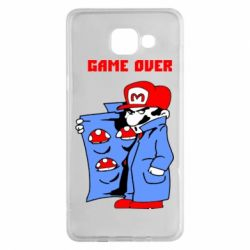Чехол для Samsung A5 2016 Game Over Mario