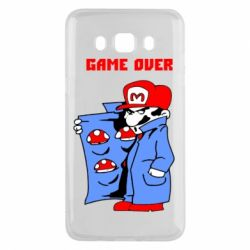 Чехол для Samsung J5 2016 Game Over Mario