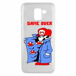 Чехол для Samsung J6 Game Over Mario