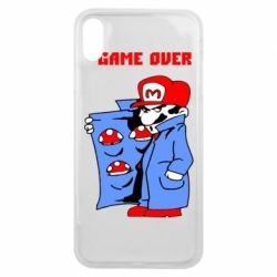 Чехол для iPhone Xs Max Game Over Mario