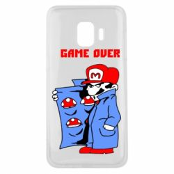 Чехол для Samsung J2 Core Game Over Mario