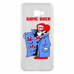 Чехол для Samsung J4 Plus 2018 Game Over Mario