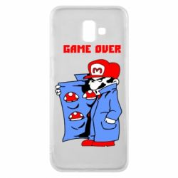 Чехол для Samsung J6 Plus 2018 Game Over Mario