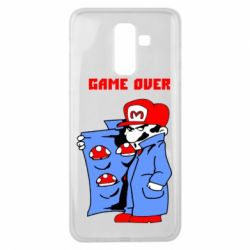 Чехол для Samsung J8 2018 Game Over Mario