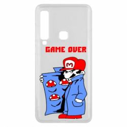 Чехол для Samsung A9 2018 Game Over Mario
