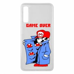 Чехол для Samsung A7 2018 Game Over Mario