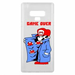 Чехол для Samsung Note 9 Game Over Mario