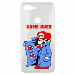 Чехол для Xiaomi Mi8 Lite Game Over Mario