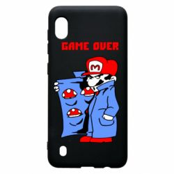 Чехол для Samsung A10 Game Over Mario