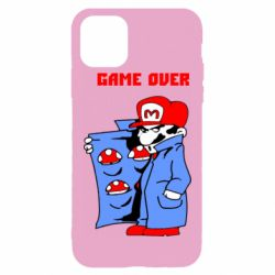 Чехол для iPhone 11 Pro Max Game Over Mario