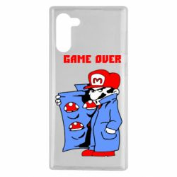 Чехол для Samsung Note 10 Game Over Mario