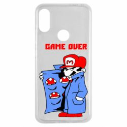 Чехол для Xiaomi Redmi Note 7 Game Over Mario
