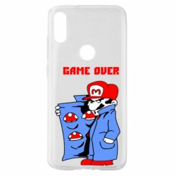 Чехол для Xiaomi Mi Play Game Over Mario