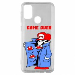 Чехол для Samsung M30s Game Over Mario