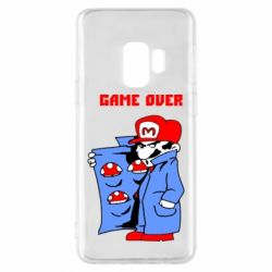 Чехол для Samsung S9 Game Over Mario