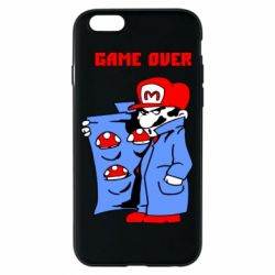 Чехол для iPhone 6/6S Game Over Mario
