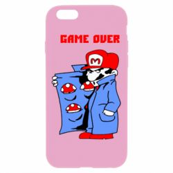 Чехол для iPhone 6 Plus/6S Plus Game Over Mario