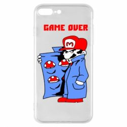 Чехол для iPhone 7 Plus Game Over Mario