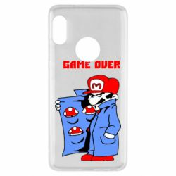 Чехол для Xiaomi Redmi Note 5 Game Over Mario