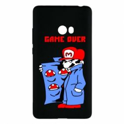Чехол для Xiaomi Mi Note 2 Game Over Mario