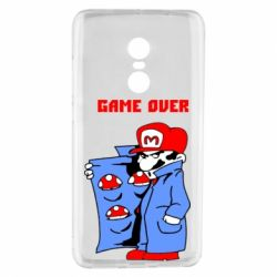 Чехол для Xiaomi Redmi Note 4 Game Over Mario