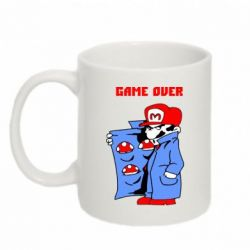 Кружка 320ml Game Over Mario