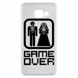 Чехол для Samsung A3 2016 Game Over