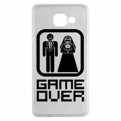 Чехол для Samsung A5 2016 Game Over
