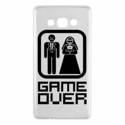 Чехол для Samsung A7 2015 Game Over